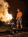 03.09.2015, thermite welding 01, Zábřeh na Moravě (24167516143).jpg