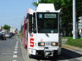 030 tram 133 approaching Südfriedhof.png