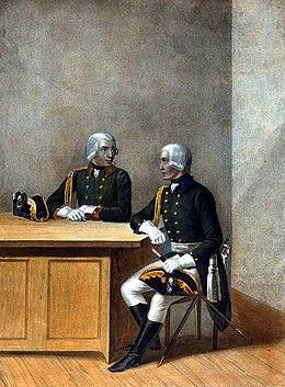 17-ci və 18-ci Yeger alaylarının unter-zabitləri 1797-1801-ci illərdə