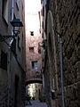 093 Carrer de Sant Joan (Monistrol de Montserrat), arc de Cal Tupinamba.JPG