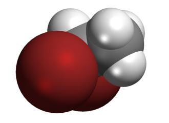 1,1-Dibromoethane - Image: 1,1 Dibromoethane