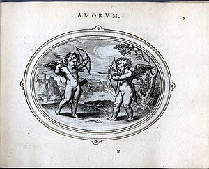 Otto van Veen - Image: 1.amorum emblemata, 1608