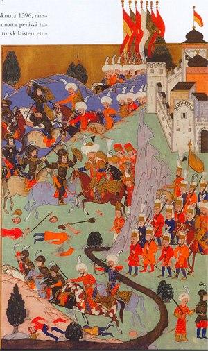 1396-Battle of Nicopolis