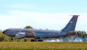 145th Air Refueling Squadron - KC-135 tanker landing.jpg