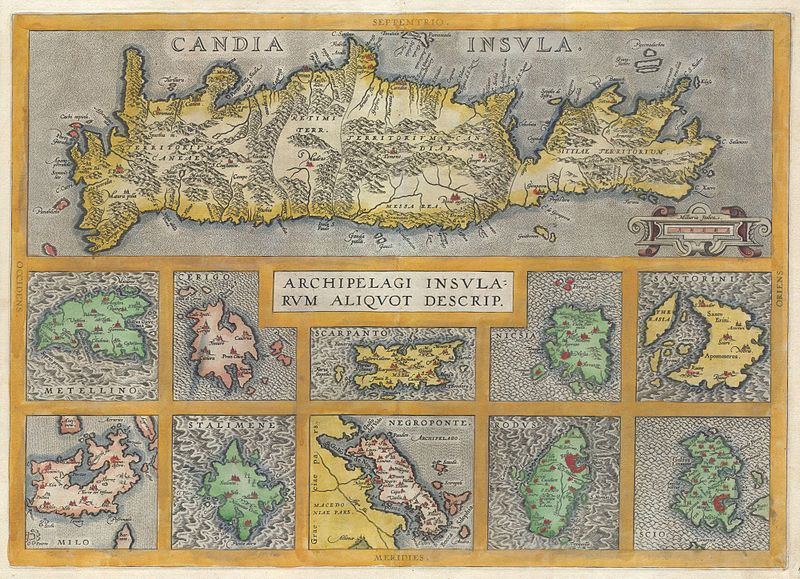 File:1584 Ortelius Map of Crete (Candia) and 10 Greek Islands - Geographicus - CandiaInsula-ortelius-1584.jpg