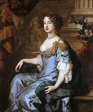 Mary II of England - Portrait by Peter Lely, 1677
