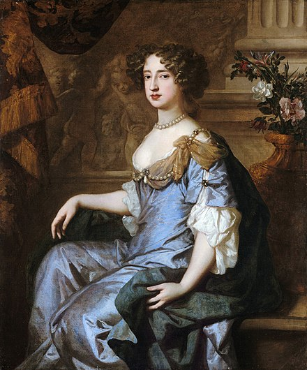 Portrait by Peter Lely, 1677 1662 Mary II.jpg