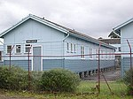 1740 - Rathmines Park, former RAAF Seaplane Base - former Airmen's Sleeping Huts now relocated to site of the former Repair Depot Hanger at the end of Stilling Road. (5054666b7).jpg