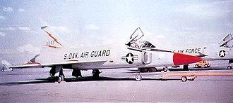175th Fighter Squadron - 175th FIS F-102A 56-1293