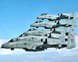 175th Wing - A-10 Thunderbolt IIs Warfield Air National Guard Base Maryland.jpg