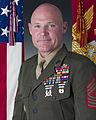 17th Sergeant Major of the Marine Corps Micheal P. Barrett.jpg