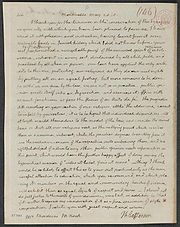In his May 28, 1818 letter to Mordecai Manuel Noah, Jefferson expressed his faith in mankind and his  views on the nature of democracy.
