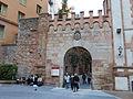 181 Monestir de Montserrat, portal de l'antiga muralla.JPG