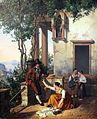 1828 Neher Szene aus dem italienischen Volksleben anagoria.JPG