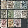1873 and 1874-5 telegraph stamps of Austria.jpg
