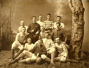 1884 Michigan Wolverines football team - Image: 1884 Michigan Wolverines football team