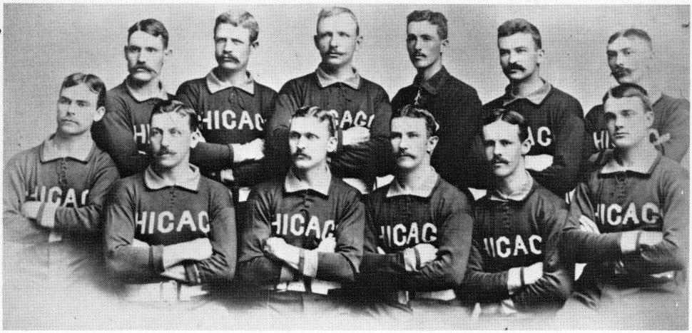1885 Chicago White Stockings