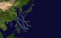 1885 Pacific typhoon season summary map.png