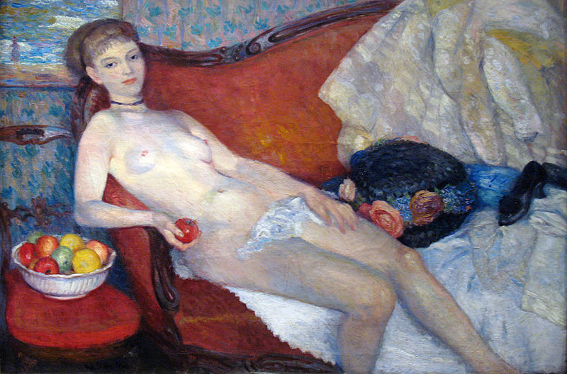 File:1910 William Glackens Nude with apple anagoria.JPG