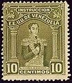 1914 10c Instruccion Bolivar YvFP118 MiSt108.jpg