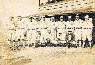 Almendares (baseball) - 1919-1920 Club Almendares