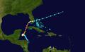 1924 Atlantic hurricane 10 track.png
