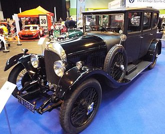 Bentley 3 Litre - Rare original saloon, a Weymann by Gurney Nutting 1926 Few saloon bodies have not been replaced by new touring bodies