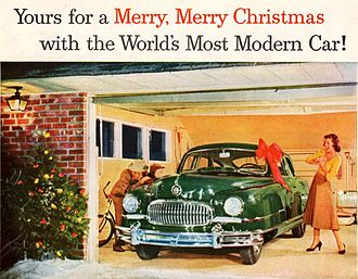 1951 in the United States - December 1951 ad for Nash Ambassador
