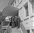 1957 Visite du ministre de l'agriculture Mr ANDRE DULIN au CNRZ-38-cliche Jean Joseph Weber.jpg