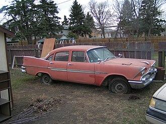 Dodge Regent - Image: 1959 Dodge Regent