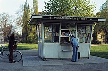 zeitungskiosk in magdeburg 1980