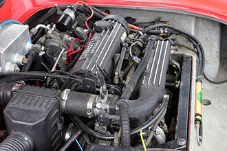 Chrysler 2.2 & 2.5 engine - A Turbo II engine in a 1990 Consulier GTP
