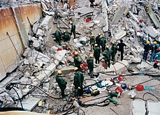 1999 Athens earthquake relief by IDF (11047262564).jpg