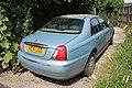 1999 Rover 75 2.5 V6 Connoisseur Auto (14358333187).jpg