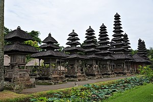 English: Pura Taman Ayun Bali Indonesia 2011 h...