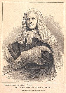 James Wilde, 1st Baron Penzance British judge and rose breeder