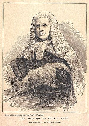 Harriet Mordaunt - Lord Penzance, judge in the Mordaunt divorce case