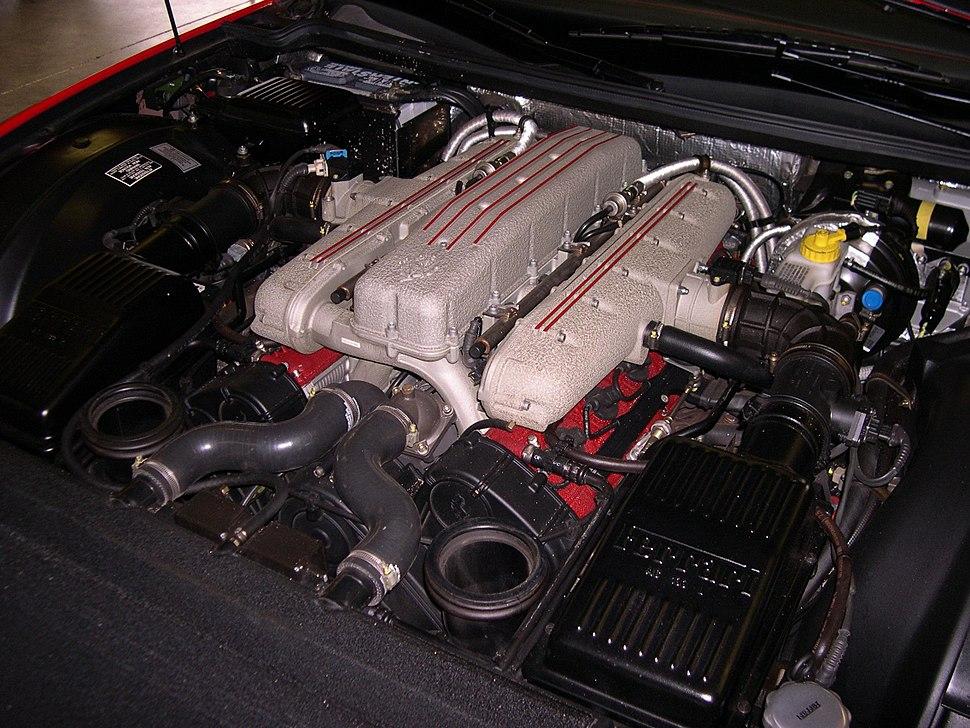 2001 Ferrari 550 engine