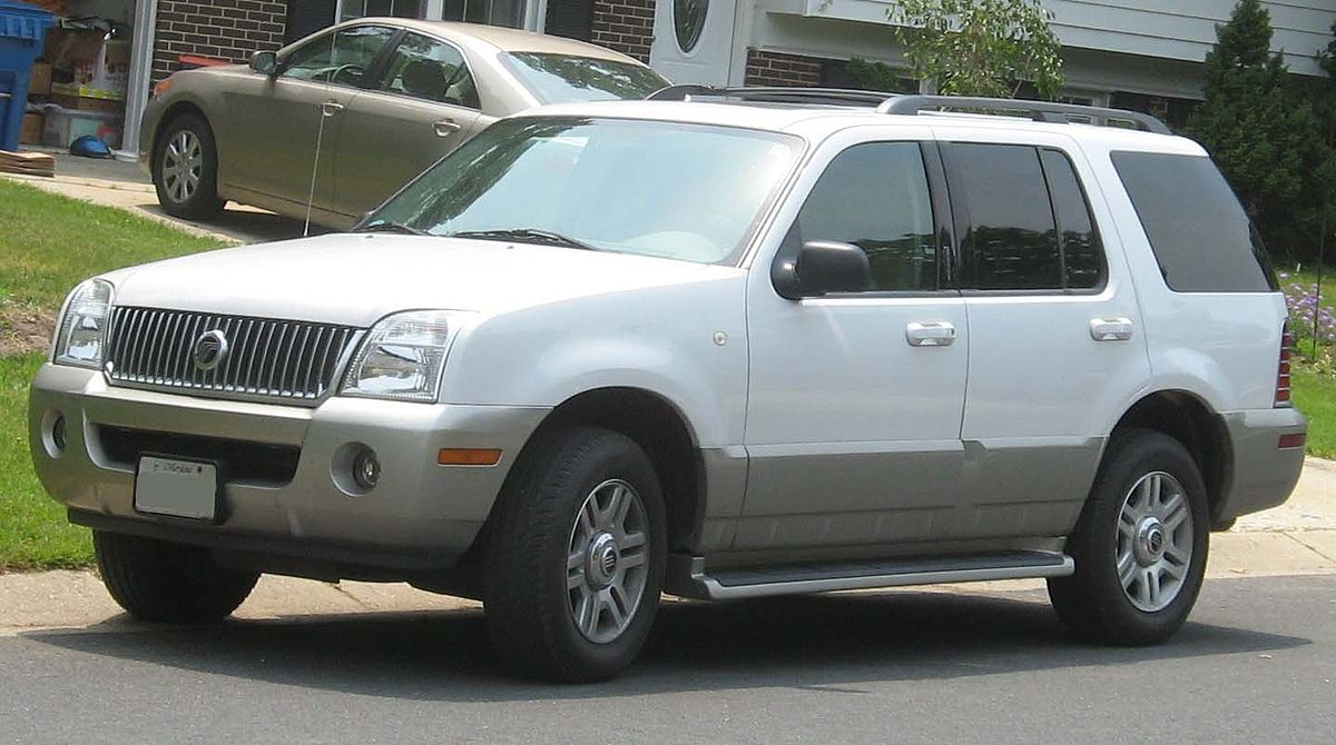 Mercury Mountaineer - Wikipedia