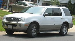 Una Mercury Mountaineer seconda serie