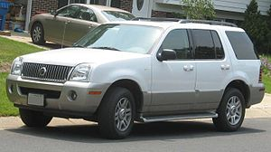 Mercury Mountaineer - Image: 2002 05 Mercury Mountaineer
