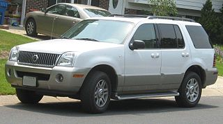 Mercury Mountaineer American car model