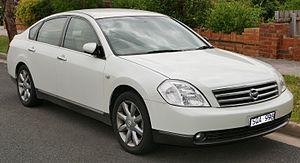 Nissan Teana - Image: 2003 Nissan Maxima (J31) ST L sedan (2016 01 04) 01