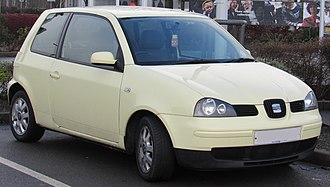 SEAT Arosa - Image: 2003 SEAT Arosa S facelift 1.0