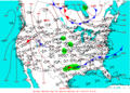 2004-06-27 Surface Weather Map NOAA.png