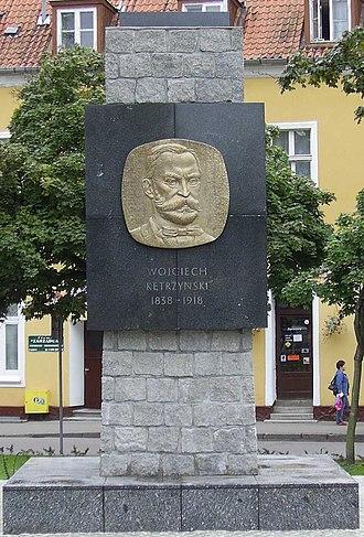 Kętrzyn - Image: 2005 09 Kętrzyn pomnik Kętrzynskiego