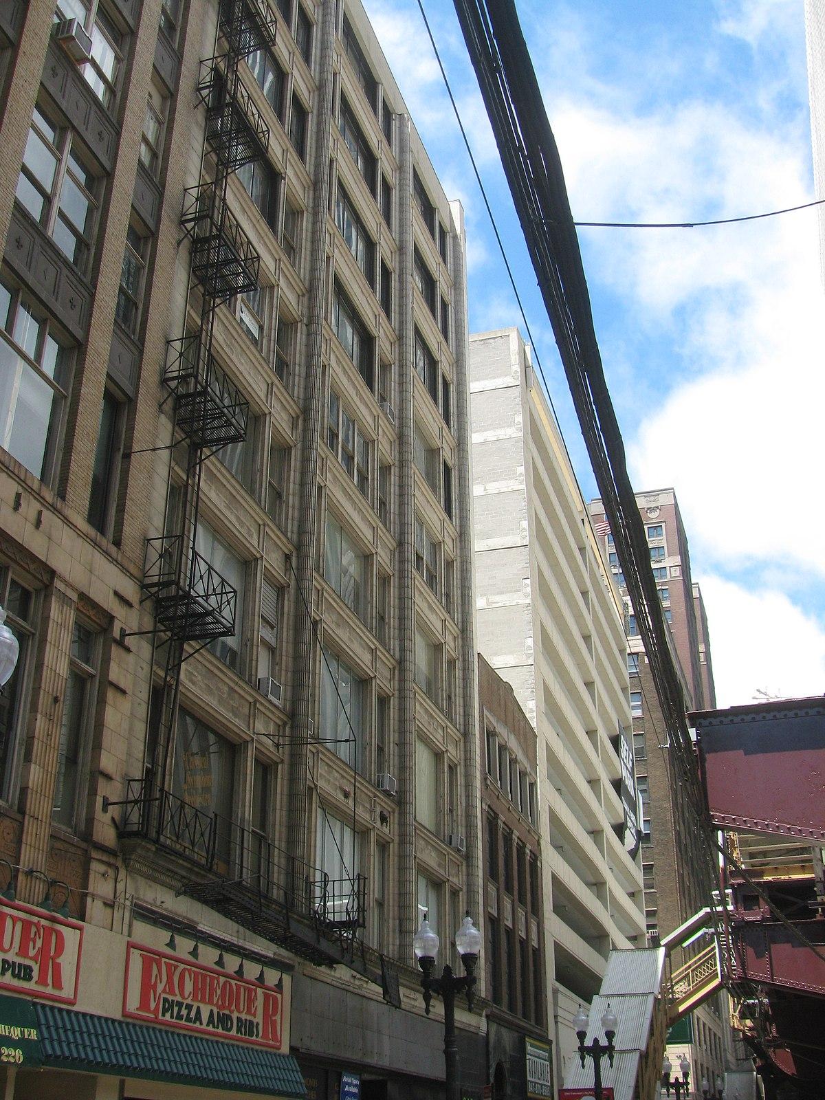 mcclurg building  chicago  illinois