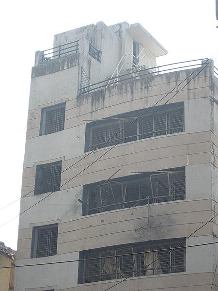 File:2008 Mumbai terror attacks Nariman House front view 3.jpg