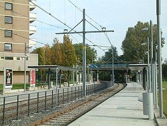 Dorp RandstadRail station - Dorp RandstadRail station