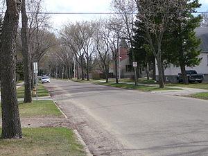 McKernan, Edmonton - Residential street in McKernan